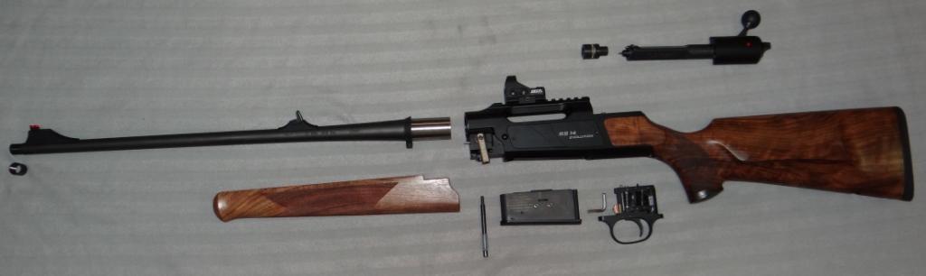 Temeljen je na platformi AR-15, izvorno osmišljen kao poboljšanje od puške Colt M4A1.